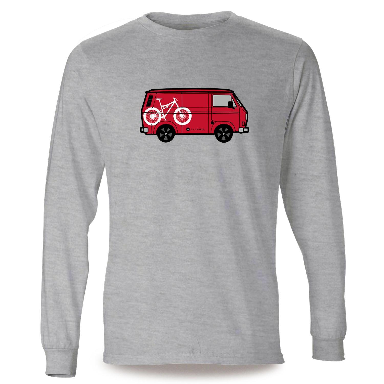 Van Life T-shirt HT Hardtail Vélo T4 T5 MTB Bike Ninja