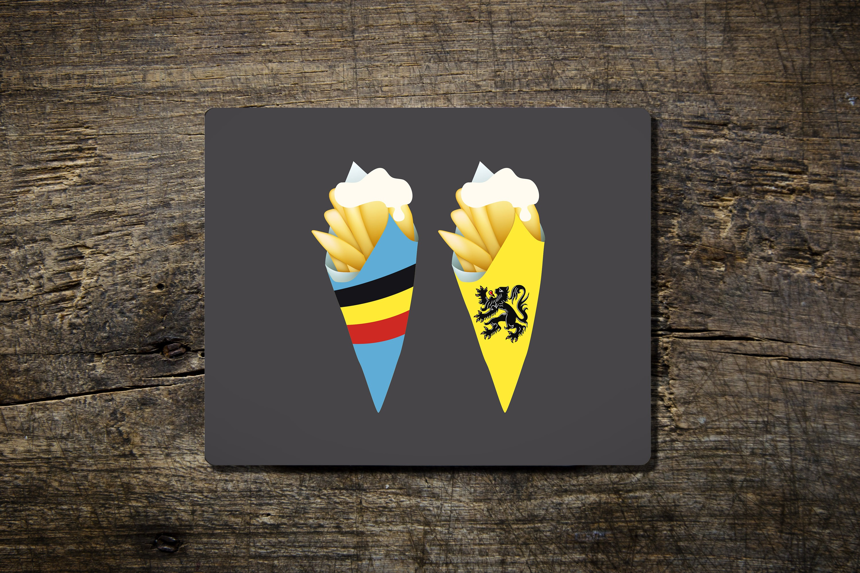 Frites and Mayo - Mouse Mat